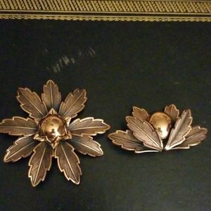 Jewelry - Vintage Copper by Bell brooches